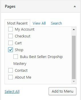 membuat menu drop down wordpress dengan sangat mudah