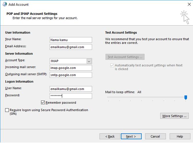 buat akun microsoft outlook dengan gmail